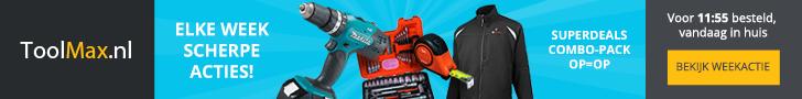 ToolMax - Weekactie banner