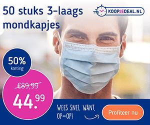 Koopjedeal.nl Mondkapjes