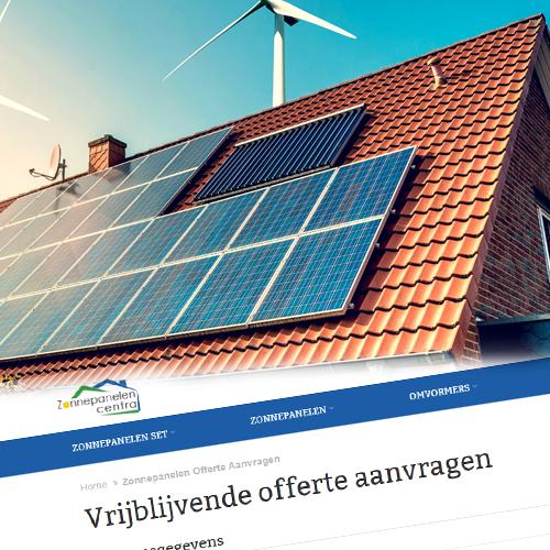 Klik hier voor de korting bij Zonnepanelencentra.nl