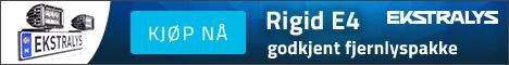 Rigid E4 godkjent fjernlyspakke 18% rabatt