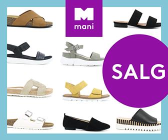 Få 30-50% av på et stort utvalg sko til hele familien!