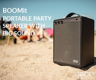 BOOMit Party Speaker fra SACKit