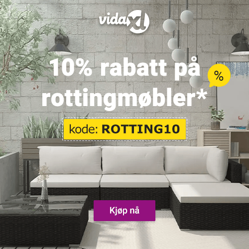 Tilbud på rottingmøbler fra vidaXL - 10% avslag