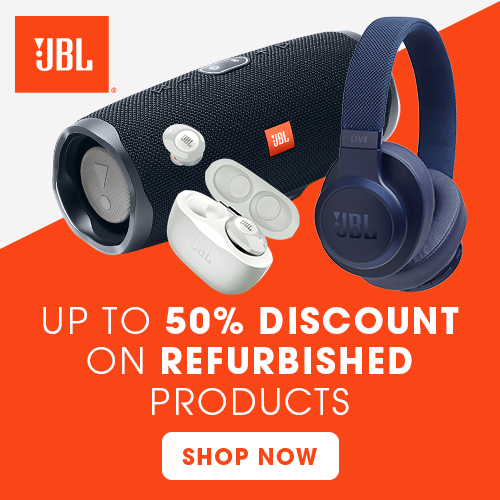 JBL - Refurbished. Up to 50% discount
