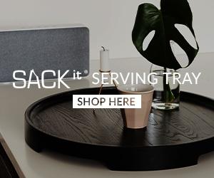 Serveringsbrett fra SACKit