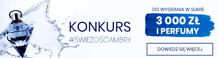 KONKURS - Do wygrania 3 tys. zł i perfumy