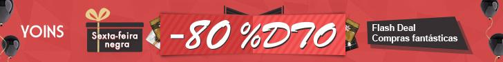 O Black Friday na Yoins.com traz descontos de até 80%