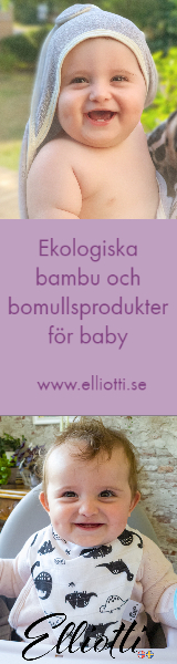 Ekologiska bambu och bomullsprodukter för baby