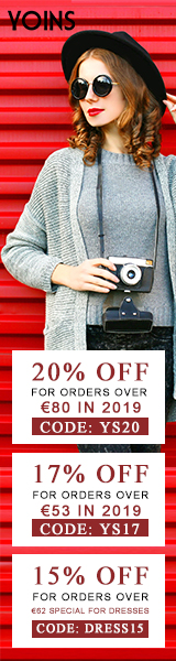 20% off for orders over Kr846 in 2019