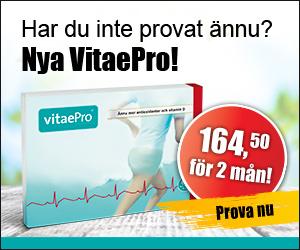 VitaePro antioxidanter för halva priset